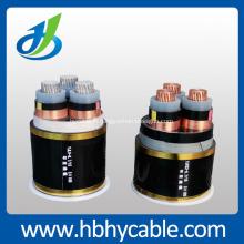 Câble d'alimentation souterrain isolé XLPE