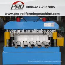 Placa de aço profissional laminada a frio formando máquina