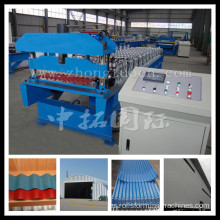 corrugated machine price color coated metal roof panel making machine