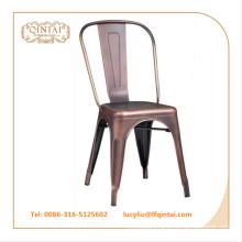vintage metal chair copper color loft chair