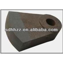 Marteau en acier résistant à l'usure de concasseur