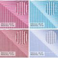 100 Baumwollgewebe Stoff Material Textil für Shirt