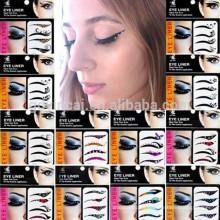 Novo design da senhora olhos tatuagem temporária maquiagem etiqueta magia instantânea sombra adesivos olho tatuagem