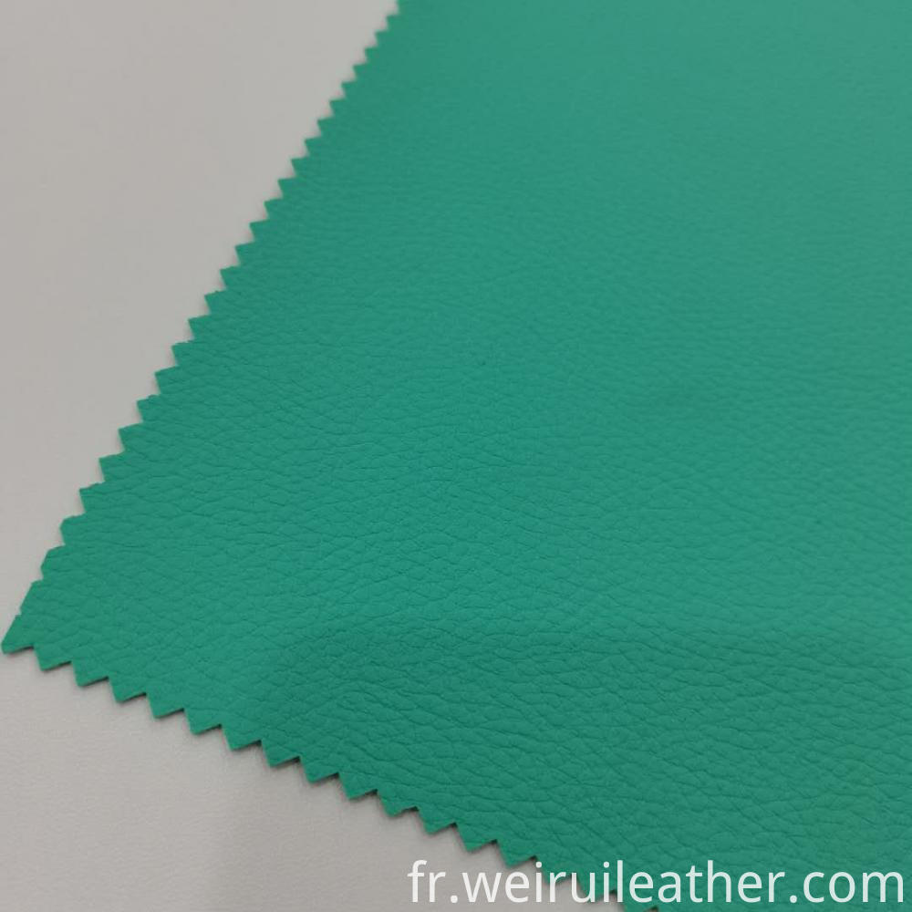 Clear Lychee Grain Pvc Leather