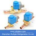 (Serie EVR) Válvulas y bobinas de solenoide Danfoss para aire acondicionado, cámara frigorífica
