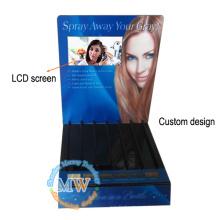 Acrílico livre da exposição ereta com a tela do LCD de 7 polegadas em projetar vários estilos