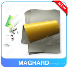 Absorbing material series A4*0.10mm adhensive soft magnet