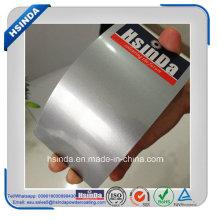 Revêtement transparent de poudre de peinture de poudre brillante argentée brillante métallique chaude de vente chaude