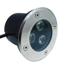 Éclairage extérieur souterrain de la lampe LED de puissance élevée LED allumant 3W 110V 220V 12V 24V (blanc chaud, blanc frais, rouge, jaune, vert, bleu, couleur RVB)
