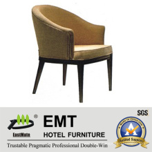 Nice Shape Comfortable Wooden Hotel Chair (EMT-HC63)