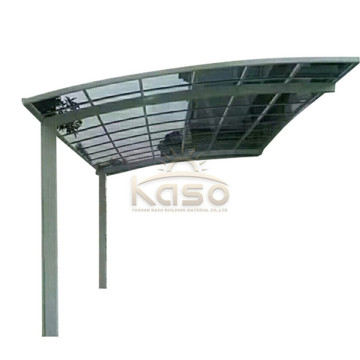 Bilgarasje Canopy Shelter Balkong Metal Simple Carport