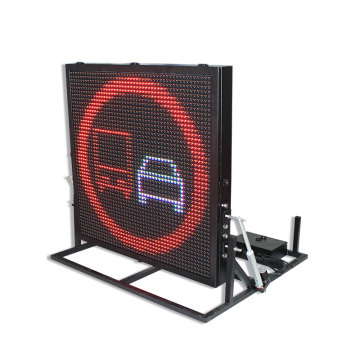 automatic lifting outdoor traffic led display screen