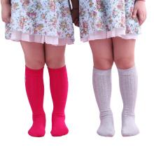 Enfants Enfants Sur Genou Bas Bas Chaussettes (TA705)