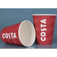 Custom Ripple Wall Coffee Paper Cup