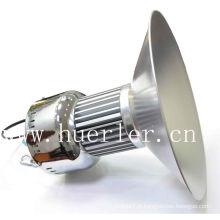 High lumens 100-240v 80w 100w a conduit une lampe à haute baie, des luminaires d'entretoise led