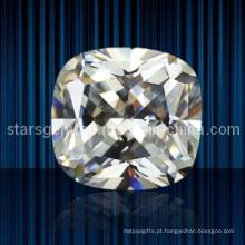 Square forma almofada cúbicos zircônia para jóias