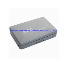 Caja portable de múltiples funciones colorida del almacenaje con el cable (C100-240)