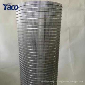 Écran en acier inoxydable de fil de cale de tambour de 304Stainless pour l'eau usée examinant la fente de 0.25mm 0.5mm 1mm