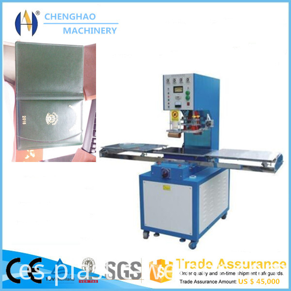 book cover welding machine