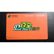 Contacto estándar ISO y tarjeta inteligente PVC sin contacto