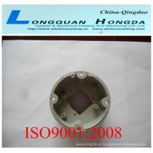 Fundição de alumínio fundido de peças de ventilador, OEM alumínio fundição ventiladores