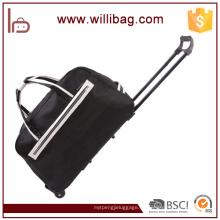 Bolso de viaje modificado para requisitos particulares de la fábrica con las ruedas, bolso de la carretilla del viaje