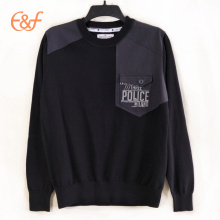 Latest New Style  Knitted Jumpers with Shoulder Patches
