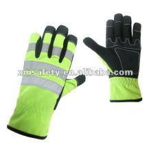 Reflective Impact Mechanic Rigger Glove/Working Glove
