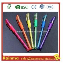 Platsic Glitter Gel Pen with Multi Color