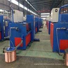 17DST(0.4-1.8) cable making equipment Gear high speed copper intermediate wire drawing machine with ennealing