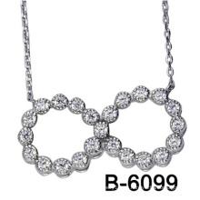 Nuevo diseño de joyería de moda de plata esterlina colgante