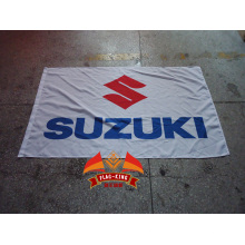 bandeira suzuki amarela bandeira suzuki branca 90x150 cm Bandeira do crânio Suzuki motociclista motociclista para decoração