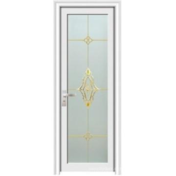 Алюминиевая дверь ванной комнаты (ЖЛ-K04)