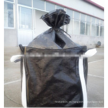 Bolso Jumbo Blanco / Negro para Carbón Activado