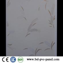 25cm 8mm Hot Stamp Algeria Style Flat PVC Panel PVC Ceiling