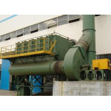 Dust collector of mine thermo electric furnace