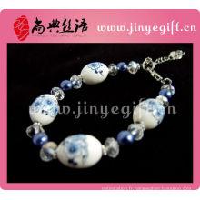 Bracelets fantaisie en porcelaine pour femme