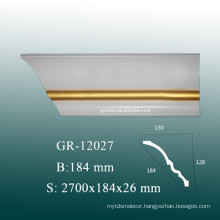Easy Installion PU Baseboard Moulding for Home Decor