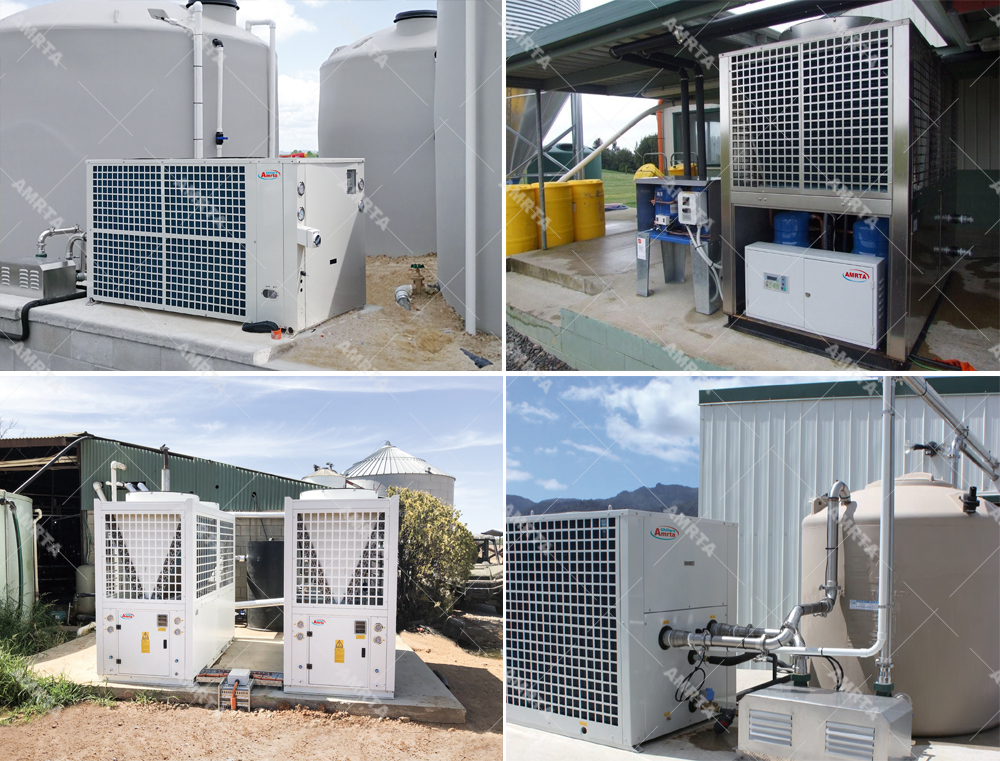 Project of Amrta industrial water chiller