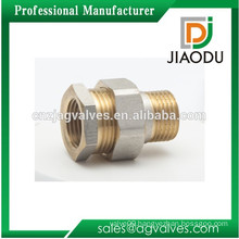 1/2 Inch 3/4 Inch 1 Inch DN15 DN20 DN25 female male Brass/ Nickel plated /Chrome plated,Yellow thread Brass Union fitting