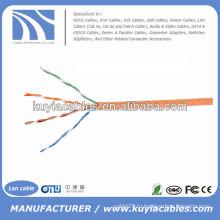 Оранжевый кабель UTP категории5