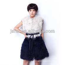 2013 new fashion and beautiful noble hotsale in EU real raccoon fur vest