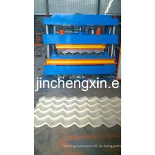 Führender Hersteller galvanisierte Dachblech-Rollformmaschine