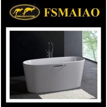 Superfície contínua da banheira da Pedra-resina do estilo moderno (BS-8602)