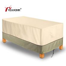 Крышка для мебели для стола в патио Прочная водонепроницаемая ветрозащитная скатерть для улицы