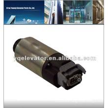 elevator electric motor brake, elevator rope brake