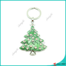 Corrente chave da árvore de Natal do metal (KC)