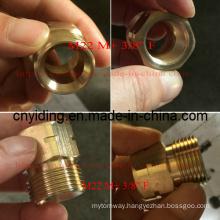 "Brass Fitting (M22 M+ 3/8"" F)"