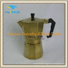 Brass Copper Coffee Pot Turkish Net Pot 6 Cups