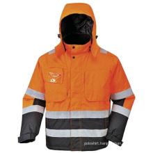 Safety Polar Fleece Jacket Sweatshirt